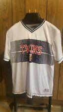 Minnesota Twins jersey True Fan medium white short sleeve polyester