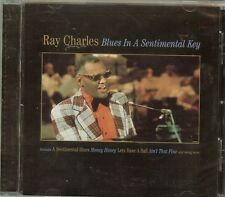 RAY CHARLES - BLUES IN A SENTMENTAL KEY - CD - NEW - FAST SHIPPING !!!