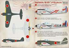Print Scale 1/72 Nakajima Ki-43 Hayabusa #72171