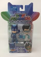 "Just Play PJ Masks Catboy And Romeo 4"" Vinyl Figures Set"