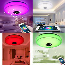 1pc Ceiling Lamp Wireless LED Light Music Ceiling Light for Balcony Bedroom Home