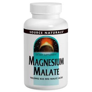 Source Naturals Magnesium Malate 100 Caps