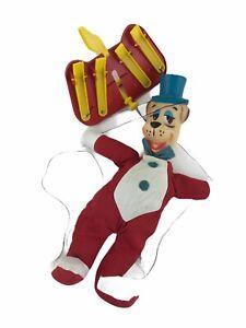 Vintage 1960s Knickerbocker Huckleberry Hound Marionette Hanna Barbera Cartoon