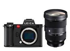 LEICA SL2 schwarz 10854 Kit + Sigma 24-70mm 2,8 DG ART L-mount