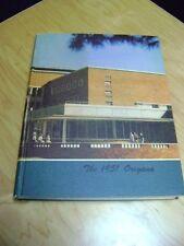 University of Oregon, EUGENE  Oregon 1951 Yearbook   LARGE AWESOME BOOK
