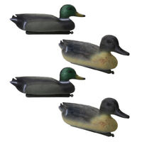 4 Pcs DUCK DECOY Floating Duck Decoy with Weighted Keel for Hunting Fishing