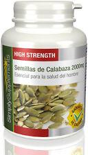 Semillas de Calabaza 2000mg Eficaz remedio para la próstata180 Cápsulas