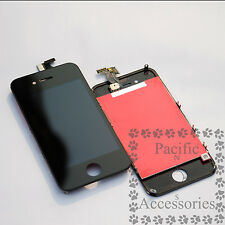 Black For Apple iPhone 4 4G LCD Display Digitizer Touch OEM Screen Replacement