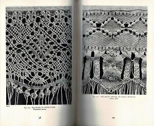 1939 Hispanic Lace and Lacemaking 432 Illustrations Hispanic Society of America