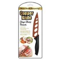 Copper knife AS SEEN ON TV chopping,dicing, mincing