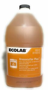 ECOLAB Greasecutter Plus | Heavy Duty Degreaser for Baked Oil Grease | 3.78 L