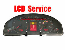 Audi A4 S4 A6 LCD REPAIR SERVICE - Instrument Cluster Speedometer Service