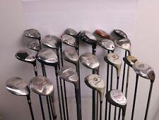 Lot of 24 Golf Club Fairway Woods Titleist Ping Callaway Adams MSRP $2400