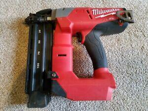 milwaukee fuel 18 gauge brad nailer 2740-20