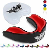 UK Warrior Gum Shield Mouthguard Mouth Guard MMA Boxing Rugby Protection Teeth