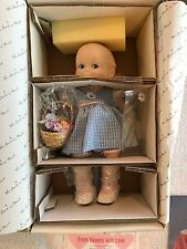"""Jesco Porcelain KEWPIE 12"""" 1997 Collector Doll - COA and all accesories included"""