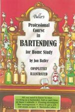 Buller's Professional Course in Bartending For Home Study-ExLibrary