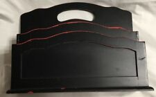 Black Desk Top letter holder/design Styles