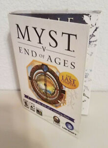 Sealed Myst V End of Ages PC 2005 The last Chapter Video Game CD-Rom