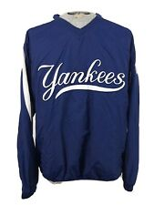 Majestic New York Yankees Pullover Windbreaker Jacket Mens XL