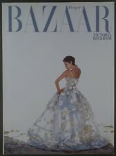 Harper's Bazaar Fashion Magazine January 2009 Victoria Beckham Cover
