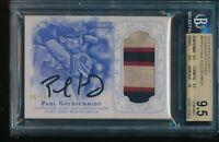 2015 Topps Dynasty Paul Goldschmidt Patch Auto BGS 9.5 Gem Mint #d /10 Autograph