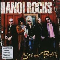 Hanoi Rocks : Street Poetry CD Album Digipak (Limited Edition) (2018) ***NEW***