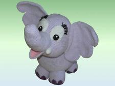 Elfi der Elefant XXL, Häkelanleitung, häkeln, Anleitung, gehäkelt, Amigurumi