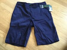 Ralph Lauren navy blue slimming fit size 8 shorts NWT