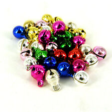 100 pcs - 6mm silver or  mixed or gold  jingle bells Charm Christmas Pendant