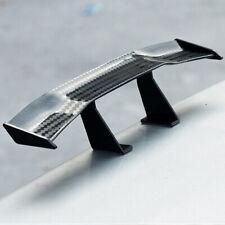 Universal Mini Car Spoiler Tail Decor Spoiler Wing Decoration Black Carbon Fiber