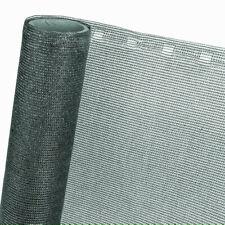 Zaunblende Sichtblende Schattiernetz HaGa® 85% in 1m Br. anthrazit (Meterware)