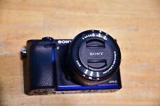 Sony Alpha α6000 24.3MP Digital SLR Camera - MANY Cool EXTRAS! + LENS!
