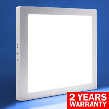 24W LED SQUARE SURFACE MOUNT Ceiling Panel Down Light 300mm x 300mm