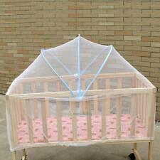 1X Arched Large Sized Yurt Crib Cot Mosquito Netting Curtain For Baby Bed Summer