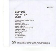 (FX53) Baby Dee, Regifted Light - 2011 DJ CD