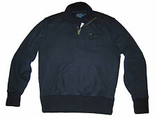 Polo Ralph Lauren Navy Blue Coastal Guard Ocean Rescue Sweater Jacket Medium
