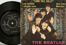 THE BEATLES LONG TALL SALLY EP DANISH 45+PS 1964 WITH RARER NON LAMINATED SLEEVE