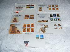 Zimbabwe & Rhodesia 6 + 1FD Covers PTC/ Animals/ Instruments/Mushrooms/Goverment