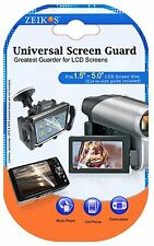 New 3 Clear Screen Protector LCD Guard For Panasonic HC-X1000 HC-W850 HC-V750
