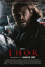 Thor Regular Double Sided Movie Poster 27 x40 Original