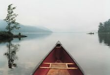 44x30 LAKE PHOTO ART PRINT - Pointing the Way by Orah Moore Senic Canoe Poster