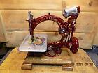 Antique Hand Crank Willcox Gibbs sewing machine. RESTORED 1888