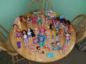 Mixed Lot of Dolls Barbie Starfire Project MC2 Shimmer Shine Pets Babies Vtg +