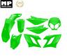 Kit carénage 8 Coques  vert DERBI SENDA APRILIA SX50 GILERA SMT/RCR