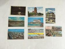 LOT 8 Ocean/Atlantic City PCS postcards vintage 1911 1964 1973