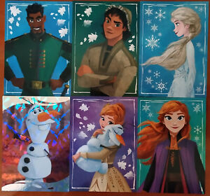 Disney Panini Frozen 2 2019 Lotto di Figurine e Cards elsa