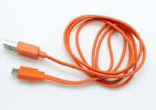 Orange 1M/3.2ft Micro USB charger cable for JBL Charge 2 Plus Bluetooth speaker