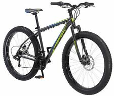 27.5 in Mongoose Alder Mountain Bike Plus Size Tire Disc Brake, Grey