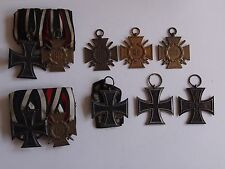 Wk1 medalla ordensspangen ek2 y otras lot 8 pzas.